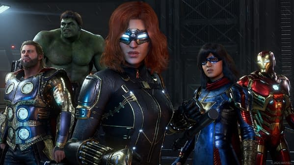 You'll get shiny new armor you might recognize in Marvel's Avengers, courtesy of Square Enix.