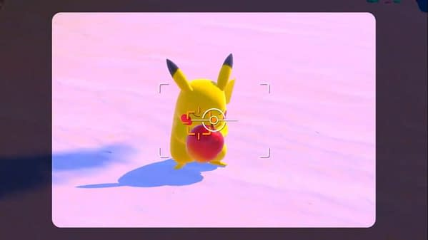 A screencap from the New Pokémon Snap game on Nintendo Switch, release date still to be determined.