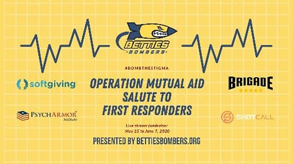 Betties Bombers Starts Operation Mutual Aid to help First Responders