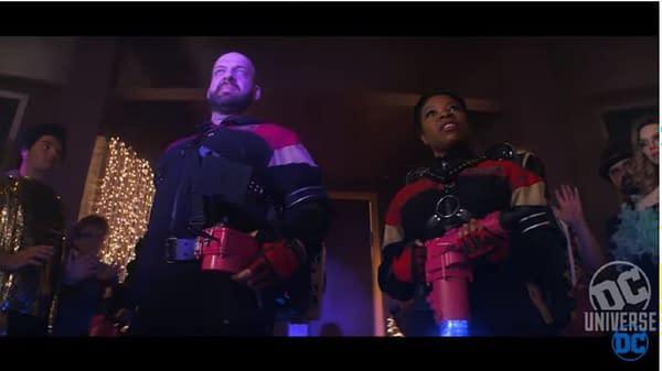 A look at The SeX-Men in Doom Patrol season 2 (Image: DC Universe/HBO Max)