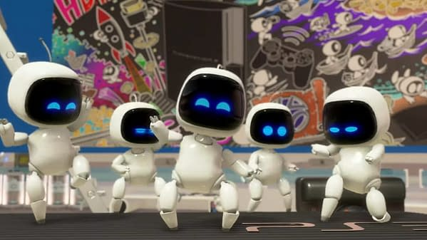 Astro's Playroom is a cute nod to Astro-Bot Rescue Mission on PS5.