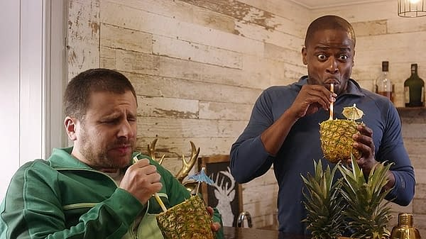 Gus and Shawn from Psych (Image: NBCU)