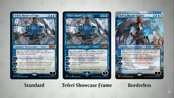 Teferi, Master of Time, a new previewed card from Core 2021 for Magic: The Gathering.