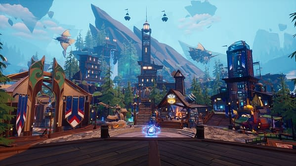 A look at the Ramsgate redesign in Dauntless, courtesy of Phoenix Labs.