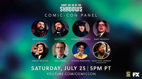 SDCC at Home: What We Do in the Shadows Panel