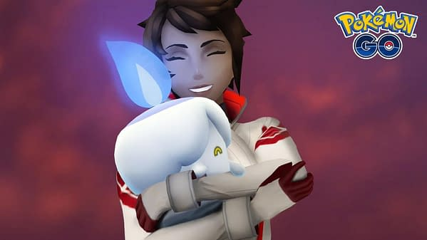 Candela and Litwick in Pokémon GO. Credit: Niantic.
