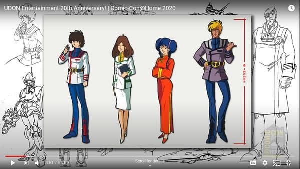 Udon @ 20: New Robotech, Rival Schools, Megaman Legends, & More #SDCC