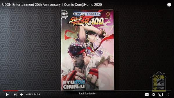 Street Fighter #100