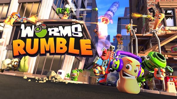 Prepare for real-time combat in Worms Rumble, courtesy of Team17.