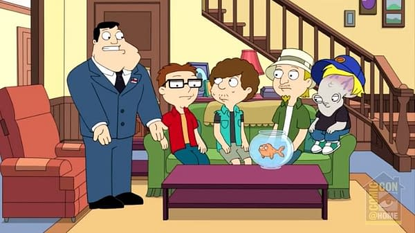 American Dad at Comic-Con@Home (Image: TBS)