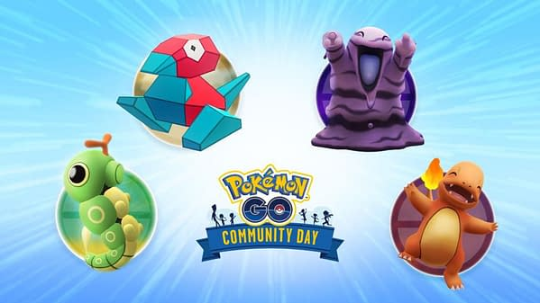 September and October Community Day in Pokémon GO will be a vote, which Porygon will win. Credit: Niantic