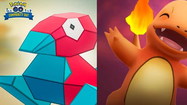 Porygon and Charmander Win Pokémon GO Community Day Vote. Credit: Niantic