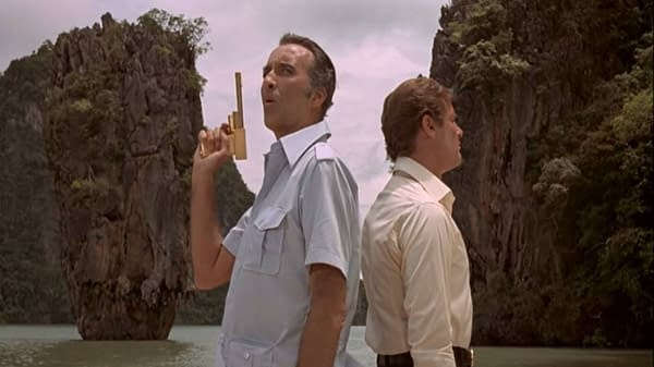 007 Bond Binge: The Man With the Golden Gun Takes Aim w Christopher Lee
