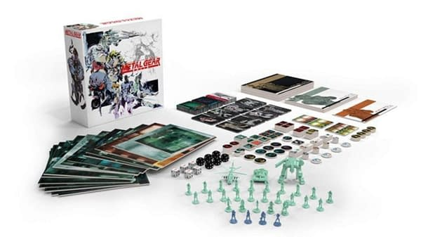 A look at Metal Gear Solid: The Board Game, courtesy of IDW Games.