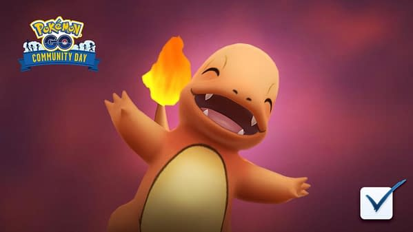 Should you vote for Charmander Community Day? Credit: Niantic