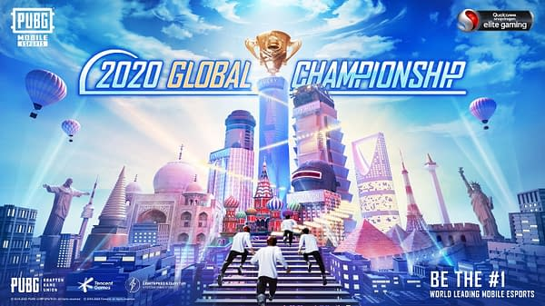 Welcome to the PUBG Mobile Global Championship, courtesy of PUBG Corp.