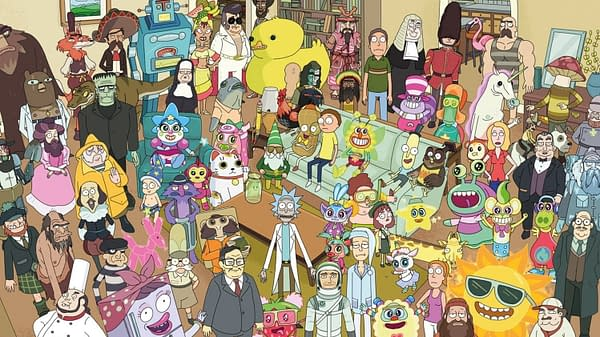 """Rick and Morty episode """"Total Rickall"""" (Image: Adult Swim)"""