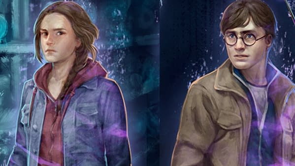 Department of Mysteries Part 2 Details for Harry Potter: Wizards Unite. Credit: Niantic