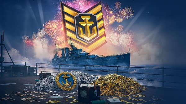 Celebrate the World Of Warships Fifth Anniversary with some special loot, courtesy of Wargaming.