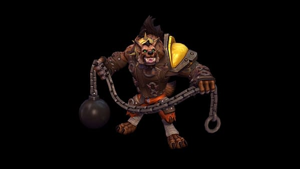 A look at Hogger as he enters Heroes Of The Storm. Courtesy of Blizzard.