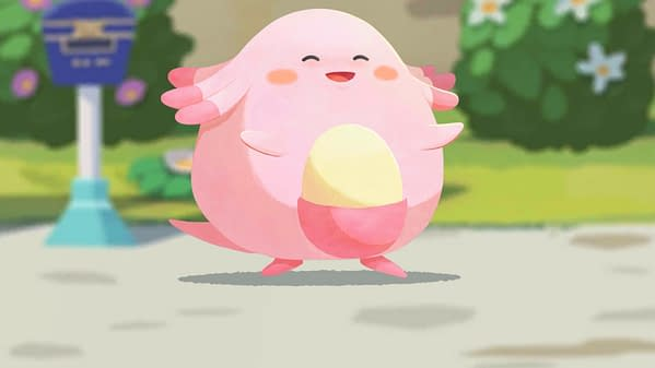 How will you do in the new Chancey event in Pokémon Cafe Mix? Courtesy of Nintendo.