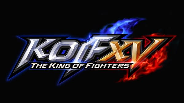 The main title logo for The King Of Fighters XV, courtesy of SNK.