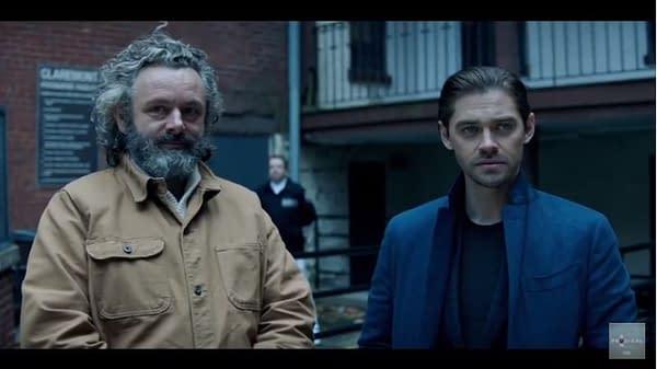 Prodigal Son screencap for the second season. (Image: FOX TV)