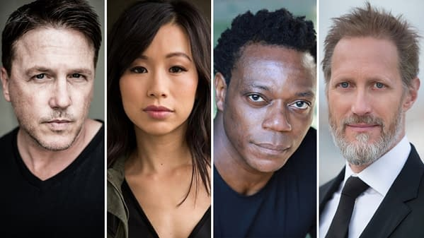 Peacemaker has added four more to the cast. (Image: HBO Max)
