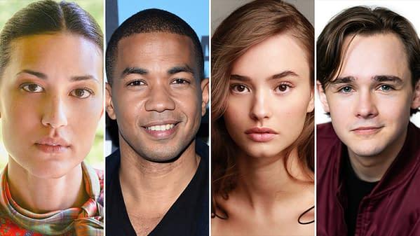 Dexter has cast Julia Jones, Alano Miller, Johnny Sequoyah, and Jack Alcott (Images: Showtime; Mega).