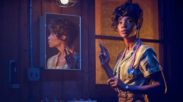 American Horror Story Angelica Ross has some thoughts on Season 10. (Image: FX Networks)