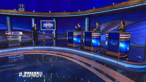 Jeopardy! Host Alex Trebek had a final message for viewers. (Image: ABC screencap)