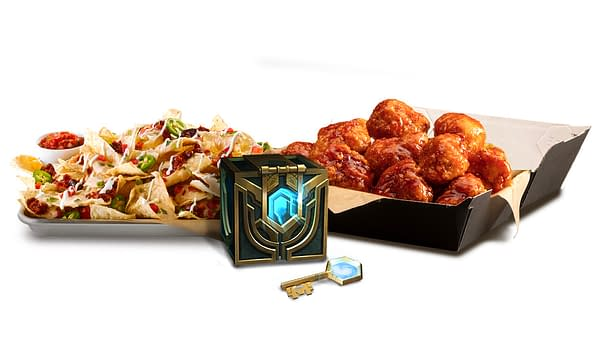 A look at the Hextech Chest & Key, courtesy of Riot Games.