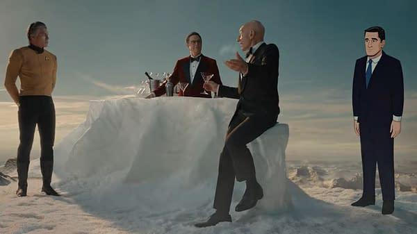 Star Trek: Picard, Stephen Colbert, Spongy Surprise Help Save the Day