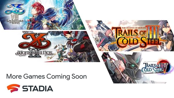 Check out these four NIS America titles coming to the platform, courtesy of Stadia.