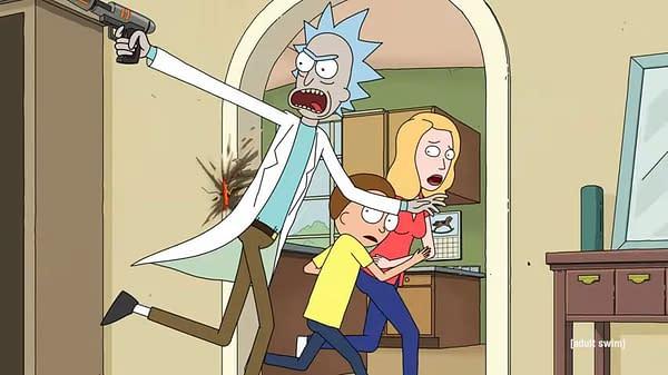 Rick And Morty S05 Trailer: Nimbus, Voltron, Hellraiser, Blade & More