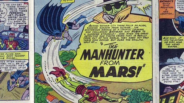 Batman #78 Martian Manhunter Title Splash, DC Comics, 1953.