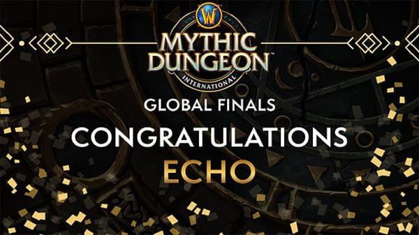 Echo takes it all in Mythic Dungeon International Season 1, courtesy of Blizzard Entertainment.
