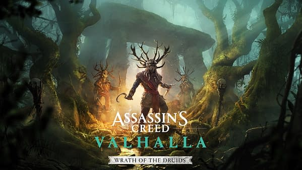 What will you do when the Wrath Of The Druids comes to Assassin's Creed Valhalla? Courtesy of Ubisoft.