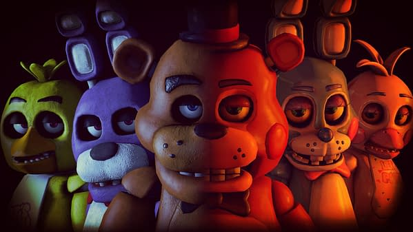 Don't you want to see a pizza place after hours? Courtesy of Scott Cawthon.