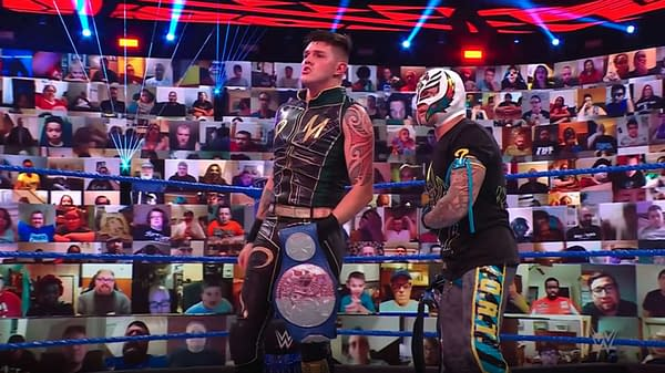 Rey and Dominik Mysterio barely survived with the belts last week after Rey Mysterio was attacked on WWE Smackdown. Who was behind it?