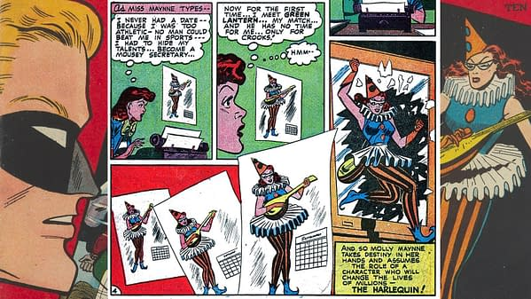 All-American Comics #89 (DC, 1947) featuring the first appearance of Harlequin.