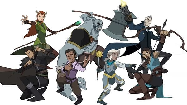 The Legend of Vox Machina Releases More Voice Cast Production Info
