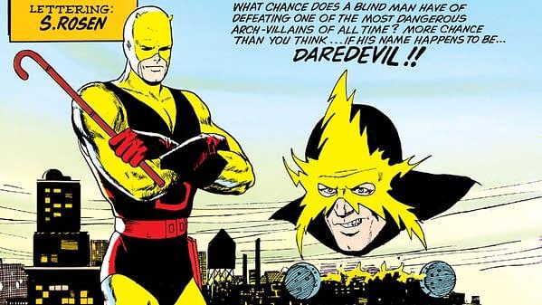 Daredevil #2 (Marvel, 1964) title splash.