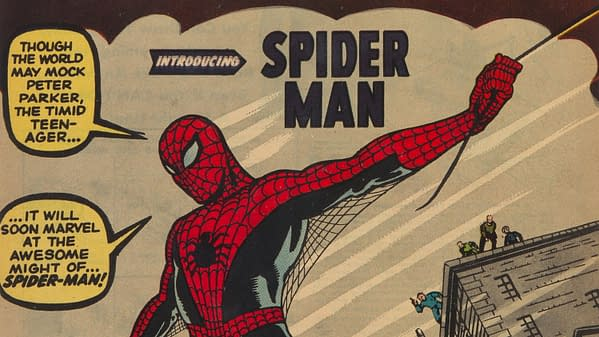 Amazing Fantasy #15, Marvel 1962.