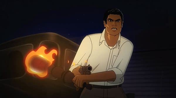 Dule' Hill Fights Off the Undead in Night of the Animated Dead