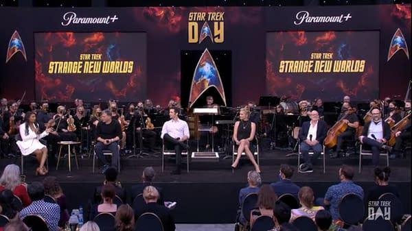 Star Trek: Strange New Worlds Cast Teaser: Uhura, Nurse Chapel & More!