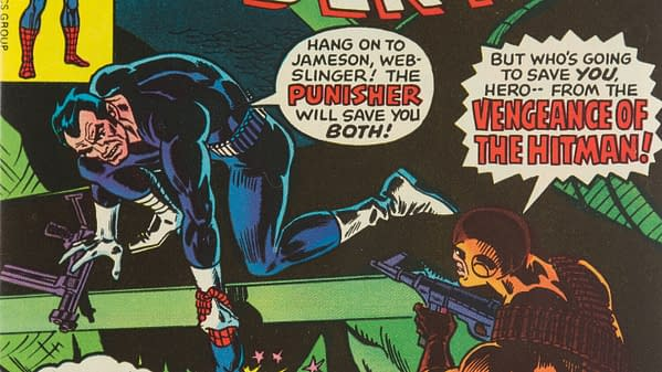 The Amazing Spider-Man #175 featuring the Punisher (Marvel, 1977).