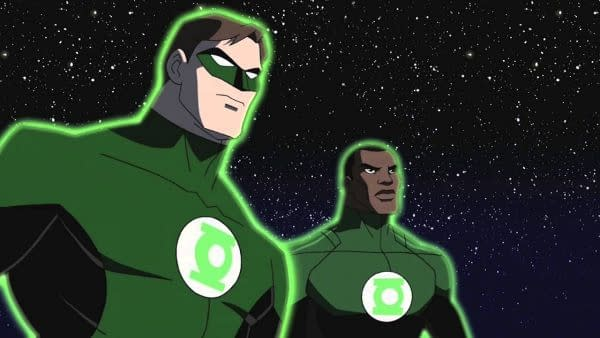 Green Lantern Corps. is Still Being Worked On