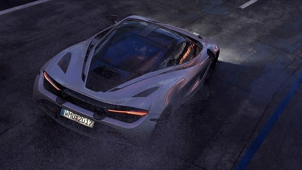 The McLaren 720S as seen in Project CARS 2