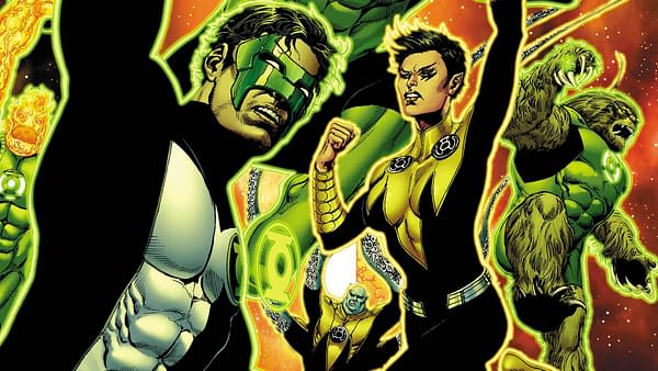 Hal Jordan and the Green Lantern Corps 21